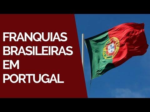 Franquias brasileiras em Portugal