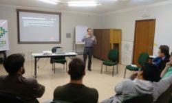 Bate papo na Associação empresarial de Curitibanos