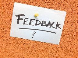 Marketing nas redes sociais feedback