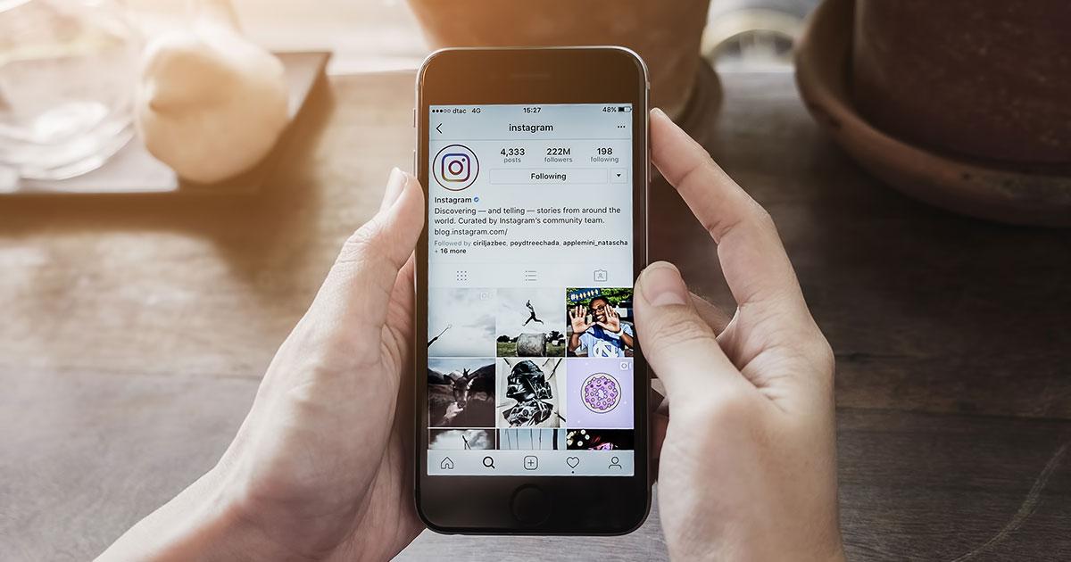 Como montar um perfil no Instagram