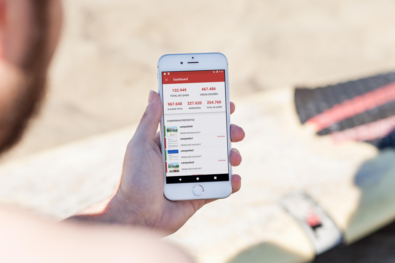 aplicativo PEF disponível para franqueados