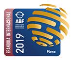 Selo ABF de franquia internacional 2019