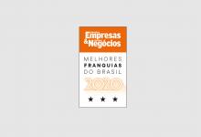 Echosis recebe selo de Melhores Franquias do Brasil pela PEGN